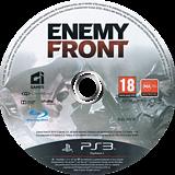 Enemy Front PS3 disc (BLES01654)