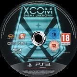 XCOM: Enemy Unknown PS3 disc (BLES01711)