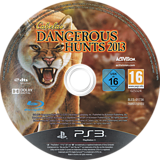 Cabela's Dangerous Hunts 2013 PS3 disc (BLES01736)