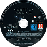 La Tierra-Media: Sombras de Mordor PS3 disc (BLES01745)
