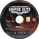 Sniper Elite V2 - Game of the Year Edition PS3 disc (BLES01812)