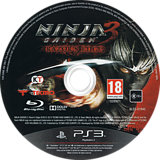Ninja Gaiden 3:Razor's Edge PS3 disc (BLES01845)