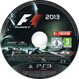 F1 2013 Classic Edition PS3 disc (BLES01870)