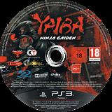 Yaiba: Ninja Gaiden Z PS3 disc (BLES01892)