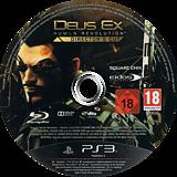 Deus Ex: Human Revolution Director's Cut PS3 disc (BLES01928)