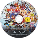Disgaea D2:A Brighter Darkness PS3 disc (BLES01939)