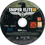 Sniper Elite III PS3 disc (BLES01981)