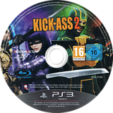 Kick-Ass 2 PS3 disc (BLES01983)