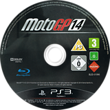 MotoGP 14 PS3 disc (BLES01996)