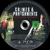Sherlock Holmes: Crimes & Punishments PS3 disc (BLES02000)