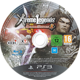 Dynasty Warriors 8: Xtreme Legends PS3 disc (BLES02008)