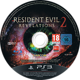 Resident Evil: Revelations 2 PS3 disc (BLES02040)