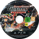 Dynasty Warriors: Gundam Reborn PS3 disc (BLES02057)