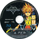 Kingdom Hearts HD 2.5 ReMIX PS3 disc (BLES02070)