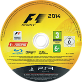 F1 2014 PS3 disc (BLES02080)