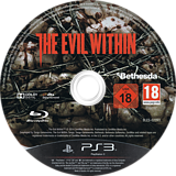 The Evil Within PS3 disc (BLES02093)