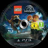 LEGO Jurassic World PS3 disc (BLES02132)