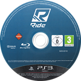 RIDE PS3 disc (BLES02133)