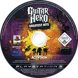 Guitar Hero: Greatest Hits disque PS3 (BLES00549)