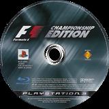 Formula One Championship Edition PS3 disc (BCJS30005)