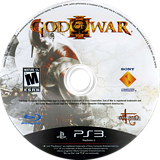 God of War III PS3 disc (BCUS98111)