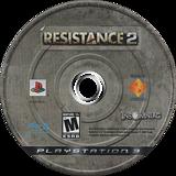 Resistance 2 PS3 disc (BCUS98120)