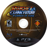 Ratchet & Clank: Future - A Crack in Time PS3 disc (BCUS98124)