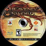 Heavenly Sword PS3 disc (BCUS98132)