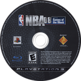 NBA 08 PS3 disc (BCUS98144)