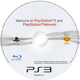 Welcome to PlayStation Network and PlayStation 3 Slim PS3 disc (BCUS98213)