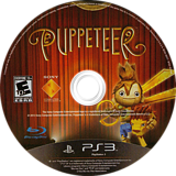 Puppeteer PS3 disc (BCUS98227)
