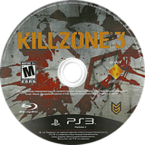 Killzone 3 PS3 disc (BCUS98234)