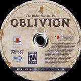 The Elder Scrolls IV: Oblivion PS3 disc (BLUS30007)