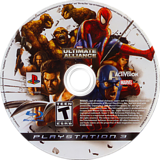 Marvel: Ultimate Alliance PS3 disc (BLUS30010)