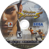 Virtua Fighter 5 PS3 disc (BLUS30020)