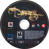 The Darkness PS3 disc (BLUS30035)