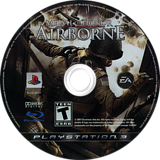 Medal of Honor: Airborne PS3 disc (BLUS30067)