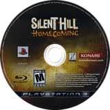 Silent Hill: Homecoming PS3 disc (BLUS30169)