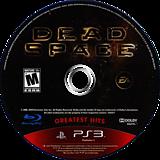 Dead Space PS3 disc (BLUS30177)