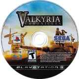 Valkyria Chronicles PS3 disc (BLUS30196)