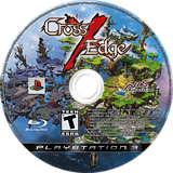 Cross Edge PS3 disc (BLUS30348)