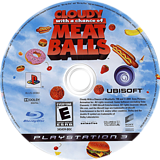Cloudy with a Chance of Meatballs PS3 disc (BLUS30363)
