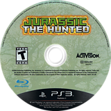 Jurassic: The Hunted PS3 disc (BLUS30435)