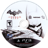 Batman: Arkham City PS3 disc (BLUS30538)