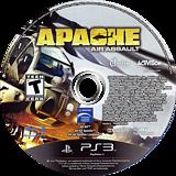 Apache: Air Assault PS3 disc (BLUS30555)