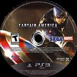 Captain America:Super Soldier PS3 disc (BLUS30642)