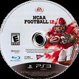 NCAA Football 12 PS3 disc (BLUS30745)