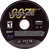 007 Legends PS3 disc (BLUS30983)