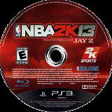 NBA 2K13 PS3 disc (BLUS31028)