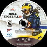 NCAA Football 14 PS3 disc (BLUS31159)